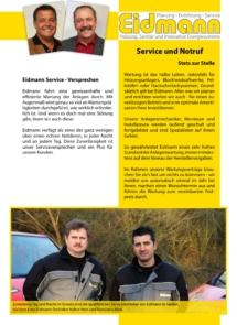 Eidmann Broschüre Service